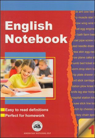 9786055627850  English Notebook 1