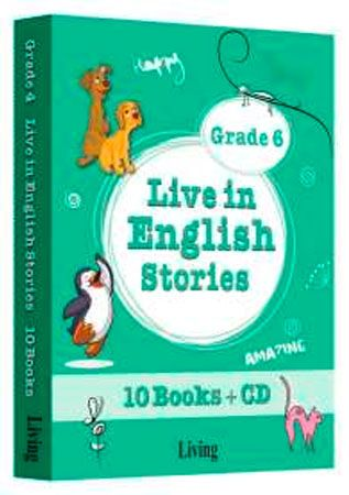 9786055033880  Live in English Stories Grade 6