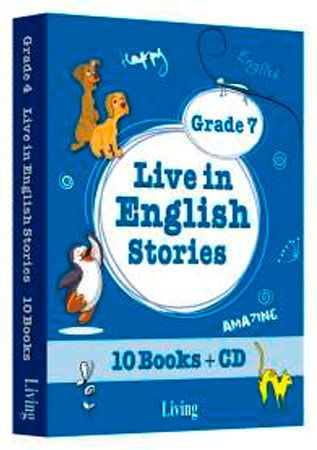 9786055033897  Live in English Stories Grade 7