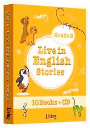 9786055033903  Live in English Stories Grade 8